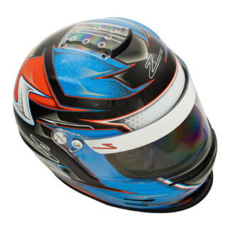Zamp RZ-42Y Graphic Orange/Blue