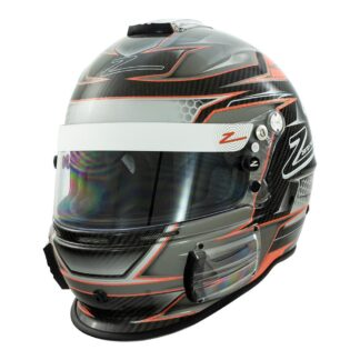 Zamp RZ-44CE Carbon Orange Graphic
