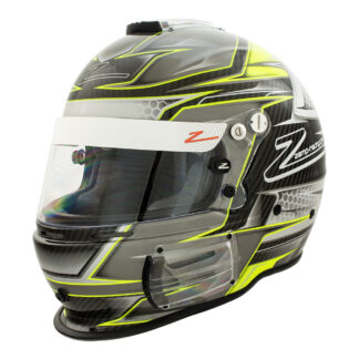 Zamp RZ-44CE Carbon Green Graphic