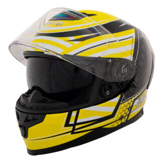 Zamp FR-4 Graphic Yellow ECE 22.05