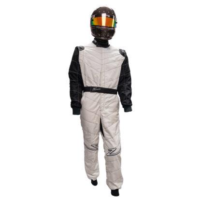 Zamp ZR-50F FIA8856-2000 Race Suit White Black