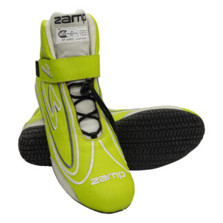 Zamp ZR-50 Race Shoe Neon Green