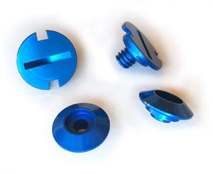 Helmet Screw Blue